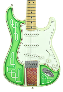Used Fender Custom Shop Masterbuilt Low Rider Stratocaster by Todd Krause w/Troy Lee Designs R39290