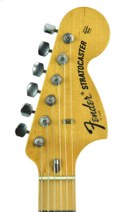 Used Fender Custom Shop Low Rider Stratocaster Todd Krause Masterbuilt Troy Lee Designs | Headstock Front