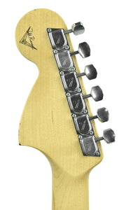 Used Fender Custom Shop Low Rider Stratocaster Todd Krause Masterbuilt Troy Lee Designs | Headstock Back