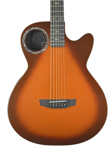 Rainsong CO-WS1005NST Acoustic Guitar in Tobacco Burst | Front