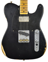 Fender Custom Shop 52 HS Telecaster Relic in Black R99020 | The Music Gallery | Front Close