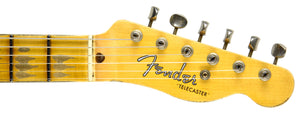 Fender Custom Shop 52 H/S Telecaster Relic | The Music Gallery | Headstock Front