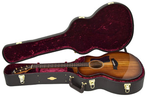 Taylor 224ce-K Deluxe Acoustic Electric Guitar 2106189600 | The Music Gallery | Open Case