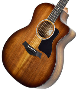 Taylor 224ce-K Deluxe Acoustic Electric Guitar 2106189600 | The Music Gallery | Front Angle 1