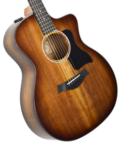 Taylor 224ce-K Deluxe Acoustic Electric Guitar 2106189600 | The Music Gallery | Front Angle 2