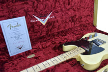 Fender Custom Shop 2017 NAMM 51 Telecaster NOS in Faded Nocaster Blonde R100221 | The Music Gallery | Open Case Certificate
