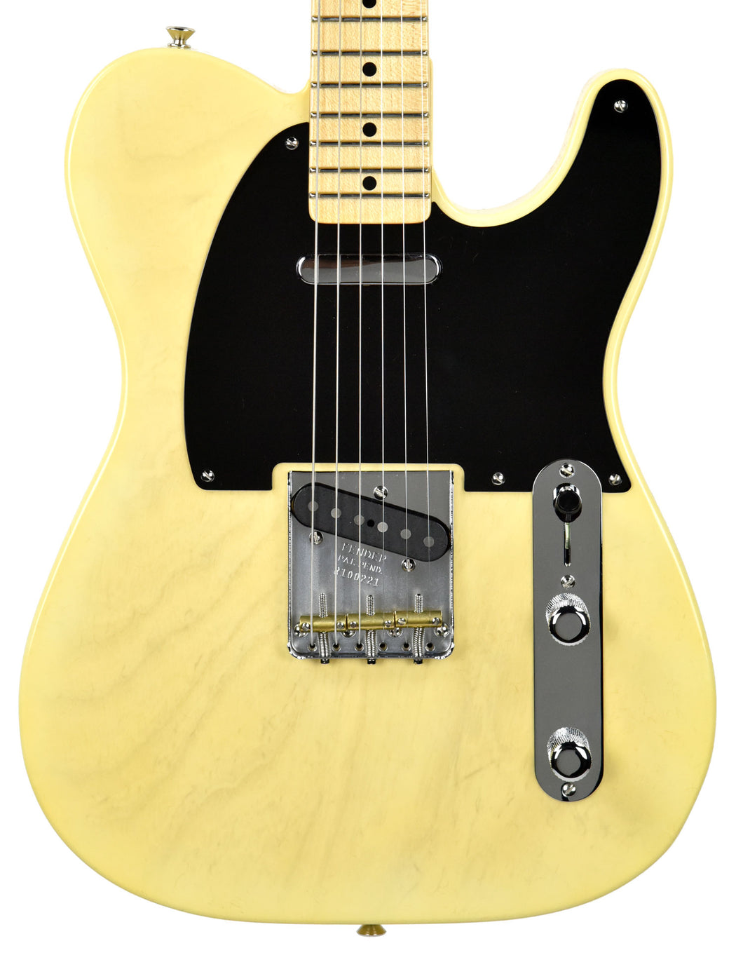 Fender Custom Shop 2017 NAMM 51 Telecaster NOS in Faded Nocaster Blonde R100221 | The Music Gallery | Front Close