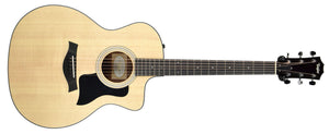 Taylor 114ce Acoustic Electric Guitar | The Music Gallery | Front Full