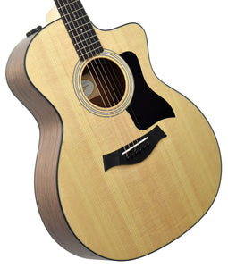Taylor 114ce Acoustic Electric Guitar | The Music Gallery | Front Angle 2