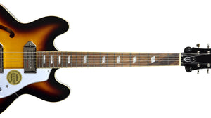 Epiphone Casino in Vintage Sunburst 19051524373 | The Music Gallery | Neck Front