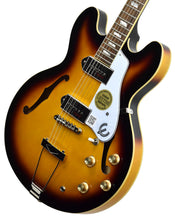 Epiphone Casino in Vintage Sunburst 19051524373 | The Music Gallery | Front Angle 2