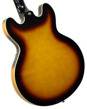 Epiphone Casino in Vintage Sunburst 19051524373 | The Music Gallery | Back Angle 1