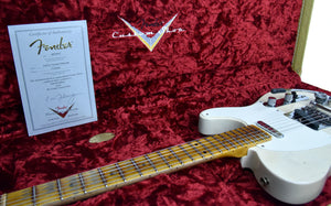 Fender® Custom Shop LTD Twisted Tele Journeyman Relic in White Blonde | Case Open
