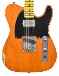 Fender Custom Shop 52 H/S Telecaster Relic in Sunset Orange Transparent R99028