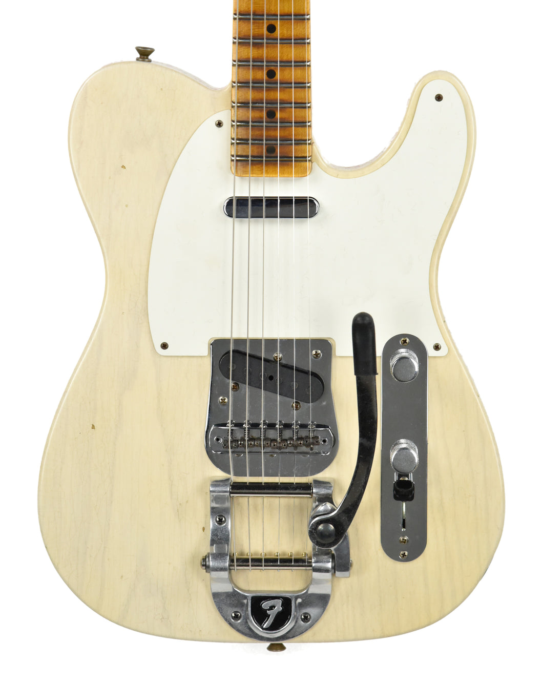 Fender® Custom Shop LTD Twisted Tele Journeyman Relic in White Blonde | Front Small