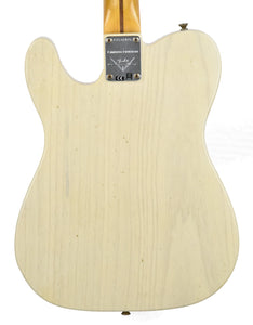 Fender® Custom Shop LTD Twisted Tele Journeyman Relic in White Blonde | Back Small