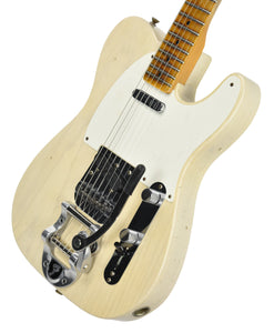 Fender® Custom Shop LTD Twisted Tele Journeyman Relic in White Blonde | Front Right