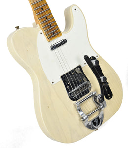 Fender® Custom Shop LTD Twisted Tele Journeyman Relic in White Blonde | Front Left