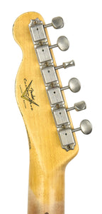 Fender® Custom Shop LTD Twisted Tele Journeyman Relic in White Blonde SN CZ537425