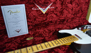 Fender® Custom Shop LTD Twisted Tele Journeyman Relic in Wide Fade 2 Tone Sunburst | Case Open