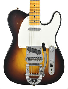 Fender® Custom Shop LTD Twisted Tele Journeyman Relic in Wide Fade 2 Tone Sunburst | Front Small