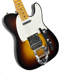 Fender Custom Shop LTD Twisted Tele Journeyman Relic in Wide Fade 2 Tone Sunburst CZ537450