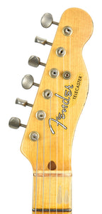 Fender® Custom Shop LTD Twisted Tele Journeyman Relic in Wide Fade 2 Tone Sunburst | Headstock Front