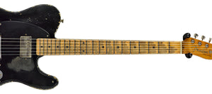 Fender Custom Shop H/S 52 Telecaster Relic Masterbuilt by Dale Wilson in Aged Black over Nocaster Blonde R99616