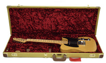 Fender® American Original '50s Telecaster® in Butterscotch Blonde | Case Open