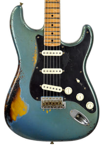 Fender Custom Shop Ancho Poblano Stratocaster | The Music Gallery | Front Close