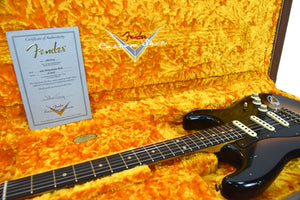 Fender Custom Shop 62 Stratocaster Relic Masterbuilt by John Cruz | The Music Gallery | Open Case Certificate