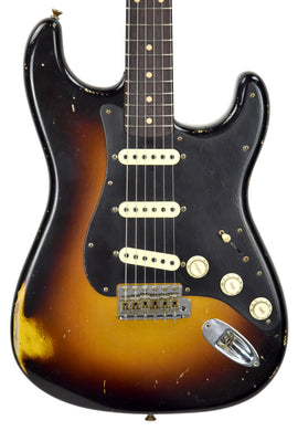Fender Custom Shop 62 Stratocaster Relic Masterbuilt by John Cruz | The Music Gallery | Front Close