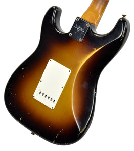 Fender Custom Shop 62 Stratocaster Relic Masterbuilt by John Cruz | The Music Gallery | Back Angle 2