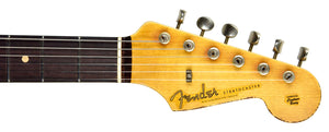 Fender Custom Shop 62 Stratocaster Relic Masterbuilt by John Cruz | The Music Gallery | Headstock Front