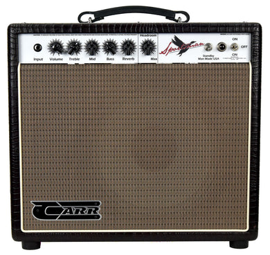 Carr Sportsman 1x12 Combo in Brown Gator 417