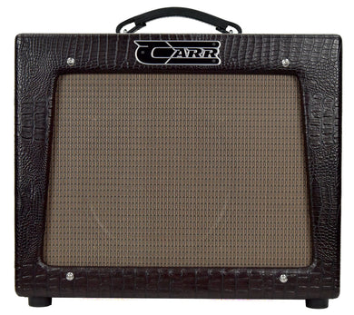 Carr Rambler 1x12 Combo in Brown Gator 02157 | The Music Gallery | Front Amp