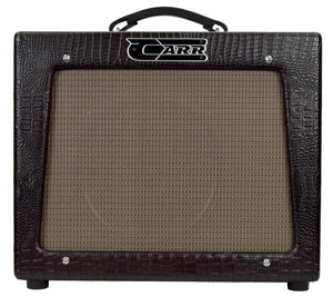 Carr Rambler 1x12 Combo in Brown Gator 02157 - The Music Gallery