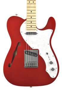 Fender® Deluxe Telecaster® Thinline in Candy Apple Red MX17917961 - The Music Gallery