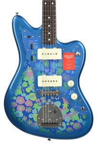 Fender® MIJ Traditional '60s Jazzmaster® in Blue Flower | Front Small