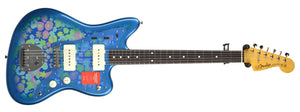 Fender® MIJ Traditional '60s Jazzmaster® in Blue Flower | Front Large