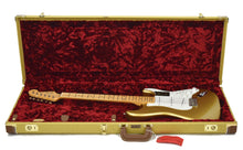 Fender® American Original '50s Stratocaster® in Aztec Gold | Case Open