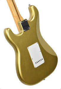 Fender® American Original '50s Stratocaster® in Aztec Gold | Back Left