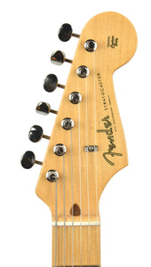 Fender® American Original '50s Stratocaster® in Aztec Gold | Headstock Front