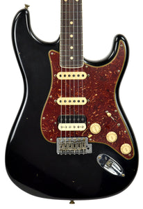 Fender Custom Shop Postmodern HSS Stratocaster Relic in Black XN11543 | The Music Gallery | Front Close