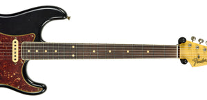 Fender Custom Shop Postmodern HSS Stratocaster Relic in Black XN11553 | The Music Gallery | Neck Front