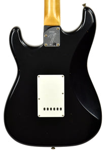 Fender Custom Shop Postmodern HSS Stratocaster Relic in Black XN11553 | The Music Gallery | Back Close