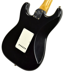 Fender Custom Shop Postmodern HSS Stratocaster Relic in Black XN11553 | The Music Gallery | Back Angle 1
