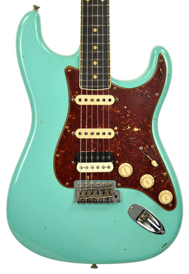 Fender Custom Shop Postmodern HSS Stratocaster Relic in Seafoam Green XN11535 | The Music Gallery | Front Close