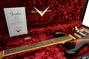 Fender Custom Shop Postmodern HSS Stratocaster Relic in 3 Tone Sunburst XN11100 | The Music Gallery | Open Case Certificate