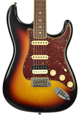 Fender Custom Shop Postmodern HSS Stratocaster Relic in 3 Tone Sunburst XN11100 | The Music Gallery | Front Close